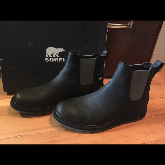 Brand New Sorel Madson Chelsea Boots